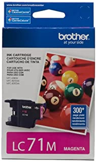 Brother LC71MS Genuine Magenta Ink Cartridge (B005I95ILY) | Amazon Products
