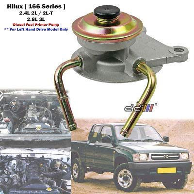 Toyota 2l Diesel Trucks Usa >> Amazon Com Diesel Fuel Filter Primer Pump For Toyota Hilux