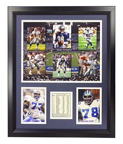 Legends Never Die Dallas Cowboys 1995 Champions Framed Photo Collage, 16