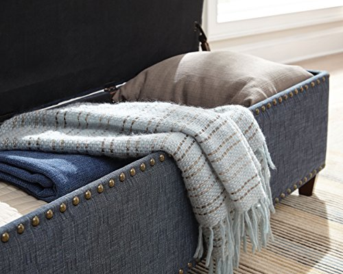 Accent Storage Bedroom Bench Upholstery Tufted Seating
