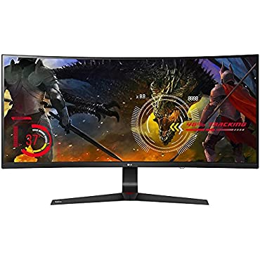 LG 34UC89G-B 34 21:9 Curved UltraWide WFHD Gaming Monitor w/G-Sync