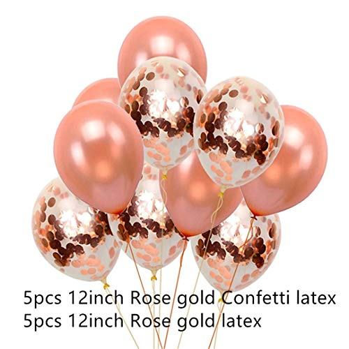24Pcs 1St 18 25 30 50Th Birthday Party Rose Gold Star Confetti Helium 40Inch Number Foil Balloons Decoration Anniversary Balls 10Pcs 12Inch Latex1]()