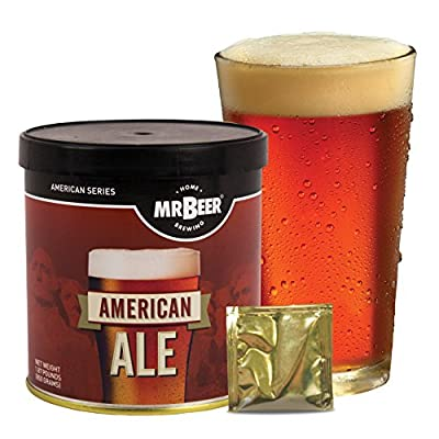 Mr. Beer Home Brewing Beer Refill Kit