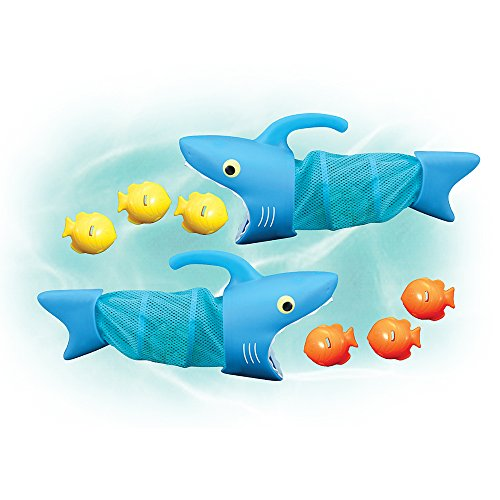 Melissa & Doug Sunny Patch Spark Shark Fish Hunt Pool Game