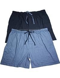 Men's Jersey Lounge Drawstring Shorts with Logo Waistband