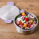 LunchBots Salad Bowl Lunch Container - 4-Cup - Leak