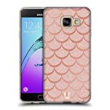 Head Case Designs Rose Gold Mermaid Scales Soft Gel Case for Samsung Galaxy S4 I9500