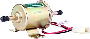 ECCPP Fuel Pump 12v Electric Transfer Universal Low Pressure Gas Diesel Fuel Pump 2.5-4psi HEP-02A