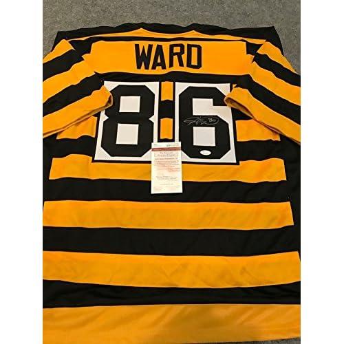 separation shoes cdaf1 04e5e Hines Ward Signed Pittsburgh Steelers Jersey JSA Coa ...