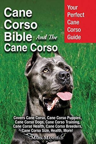 Cane Corso Bible And the Cane Corso: Your Perfect Cane Corso Guide Covers Cane Corso, Cane Corso Puppies, Cane Corso Dogs, Cane Corso Training, Cane Corso ... Cane Corso Breeders, Cane Corso Size,