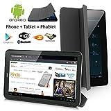 Indigi ATT TMobile Unlocked! Ultra Slim 7.0in 3G SmartPhone Android 4.4 Tablet PC w/ Smart Cover