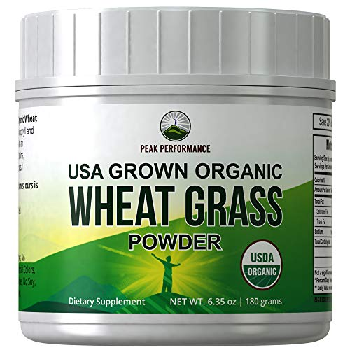 Organic Wheatgrass Powder by