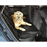 Kailian  Pet Waterproof Hammock Seat Cover Seat Dog Cat Back Seat Mats For Car - Black 55.9 * 55.9 inch