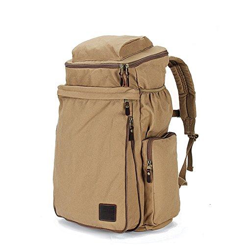 Bolso de la lona/mochila/ mochila de portátil de los hombres/Ocio al aire libre bolsa de deporte/Gran capacidad mochilas-B B