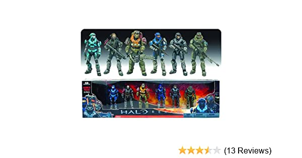 040455b29fe788 Amazon.com: McFarlane Toys - Halo Reach pack 6 figurines deluxe Noble Team  17 cm by Unknown: Toys & Games
