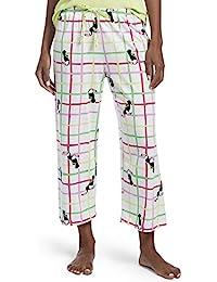 b60d5ddb8f0b Women s Printed Knit Capri Pajama Sleep Pant
