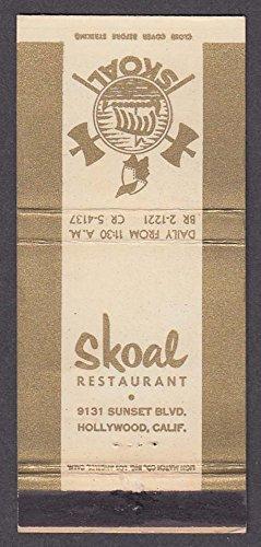 Skoal Restaurant 9131 Sunset Blvd Hollywood CA - Blvd Hollywood Ca Hollywood