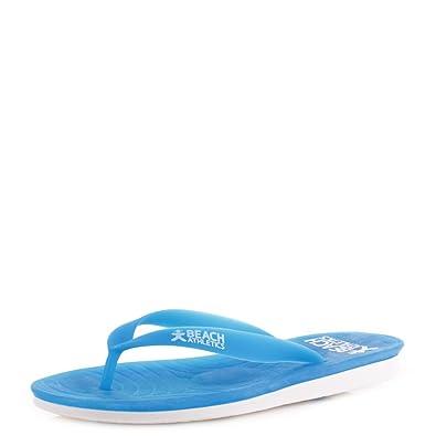 c2170d2d0e03 Beach Athletics Women s St Tropez Turquoise Flip Flops 310-013-444-105 5