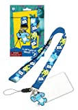 Disney Monsters University Lanyard with PVC Dangle