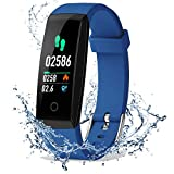 DoSmarter Fitness Tracker, Color Screen Activity Health Tracker with Heart Rate Blood Pressure