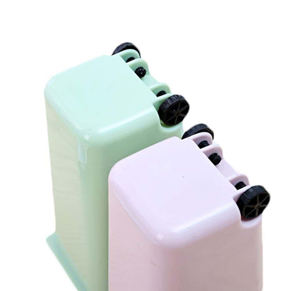 pl/ástico Organizador de Escritorio xMxDESiZ Mini Cubo de Basura con Ruedas 01 lapicero Creativo