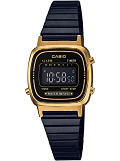 44ee648c73de Relógio Feminino Casio Vintage Digital B650WC-5ADF - Rose  Amazon ...