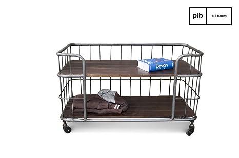 pib - Muebles auxiliares de Cocina - Carrito de Almacenamiento de diseño Industrial Remember, Aparador