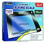 Extra Wide Talking Scale, Talking Scale Glass 15X12, (1 EACH, 1 EACH)