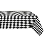 DII Cotton Tablecloth for for Dinner Parties, Weddings & Everyday Use, 60x120, Harlequin