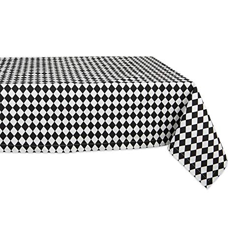 DII Cotton Tablecloth for for Dinner Parties, Weddings & Everyday Use, 60x120, Harlequin]()