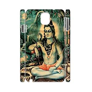 Shiva Design Unique Customized 3D Hard Case Cover for Samsung Galaxy Note 3 N9000, Shiva Galaxy Note 3 N9000 3D Cover Case
