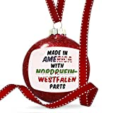 Christmas Decoration Made in America with Parts from Nordrhein-Westfalen Ornament