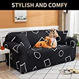 UMETE Printed Sofa Cover Couch Cover, 1 Piece