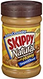 Skippy Peanut Butter, Natural with Honey Super Chunk, 15Ounce