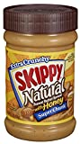 skippy all natural peanut butter - Skippy Peanut Butter, Natural with Honey Super Chunk, 15Ounce
