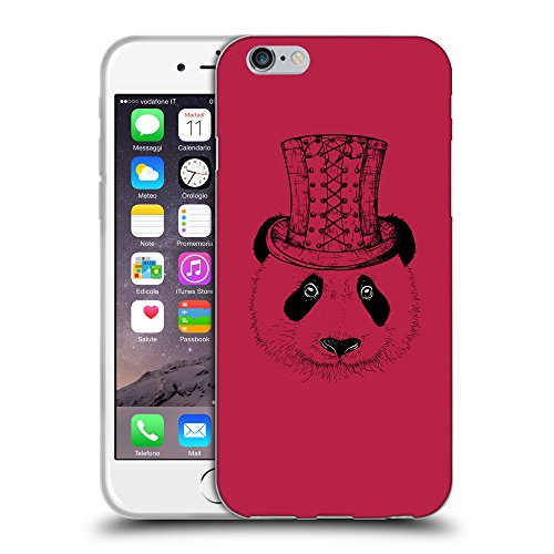 GoGoMobile Coque de Protection TPU Silicone Case pour // Q08350615 Chapeau panada Marron clair // Apple iPhone 6 4.7""