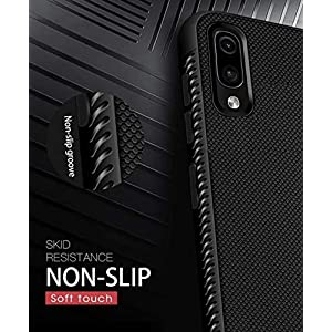 Ankirant Soft Silicon Flexible Back Case Cover for Mi Xiaomi Redmi Note 7 Pro (Black)