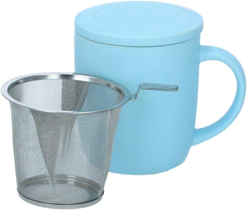 Plint Teetasse inkl Teesieb und Deckel ice pastellblau