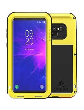 Galaxy Note 9 Funda, Love Mei Antichoque Al Aire Libre Tarea Pesada Híbrido Aluminio Metal Armadura Antipolvo Carcasas para Samsung Galaxy Note9 ...