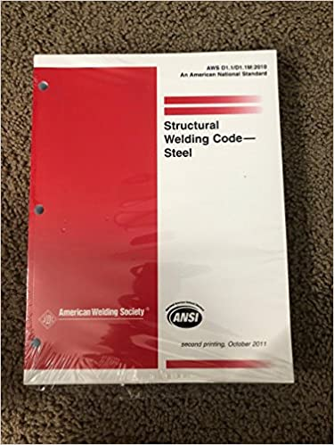 Buy Aws D11d11m 2010 Structural Welding Code Steel Book Online