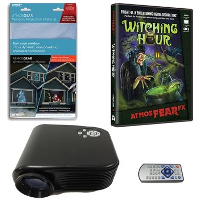 Virtual Reality Halloween Projector Value Kit with Witching