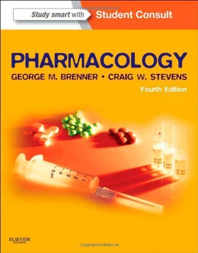 Pharmacology, 4e 4th Edition by Brenner PhD, George M., Stevens PhD, Craig (2012) Paperback ebook