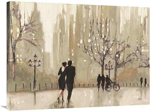 """Global Gallery Julia Purinton, an Evening Out Neutral' Giclee Stretched Canvas Artwork, 40 x 30"""""""