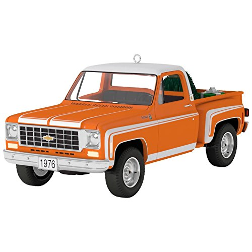 Collectible Christmas Ornament Collection (Hallmark Keepsake 2017 All-American Trucks 1976 Chevrolet C-10 Sport Dated Christmas Ornament)