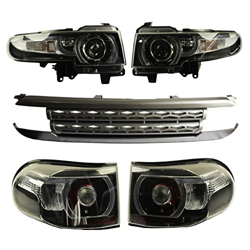 Grille Toyota Fj Cruiser - JDMSPEED New LED Halo Headlight (With Grille And Tail Light) For Toyota FJ Cruiser 2007-2015