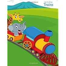 Livre de coloriage Trains 1