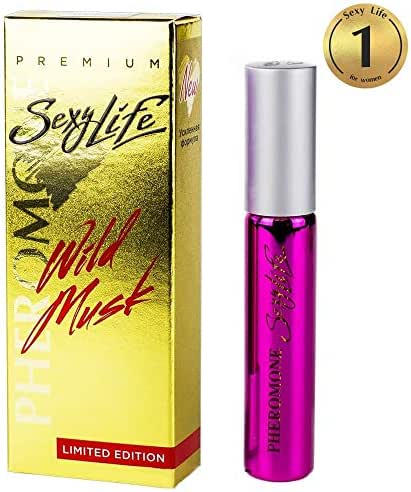 Pheromones to Attract Men With Added Fragrance Molecules for Women, Best Way to Get Immediete Human Mali Attention (Oil Pheromone Human 10ml)
