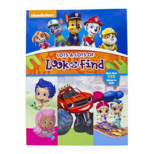 Nickelodeon PAW Patrol, Bubble Guppies, Blaze, and More! Lots & Lots of Look and Find - PI -