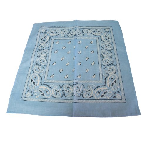Light Blue Bandana - 2