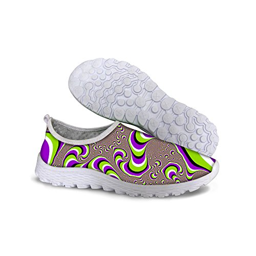 FOR U DESIGNS Stylish Lightweight Convenient Mesh Sneaker Running Shoes For Women Multi a